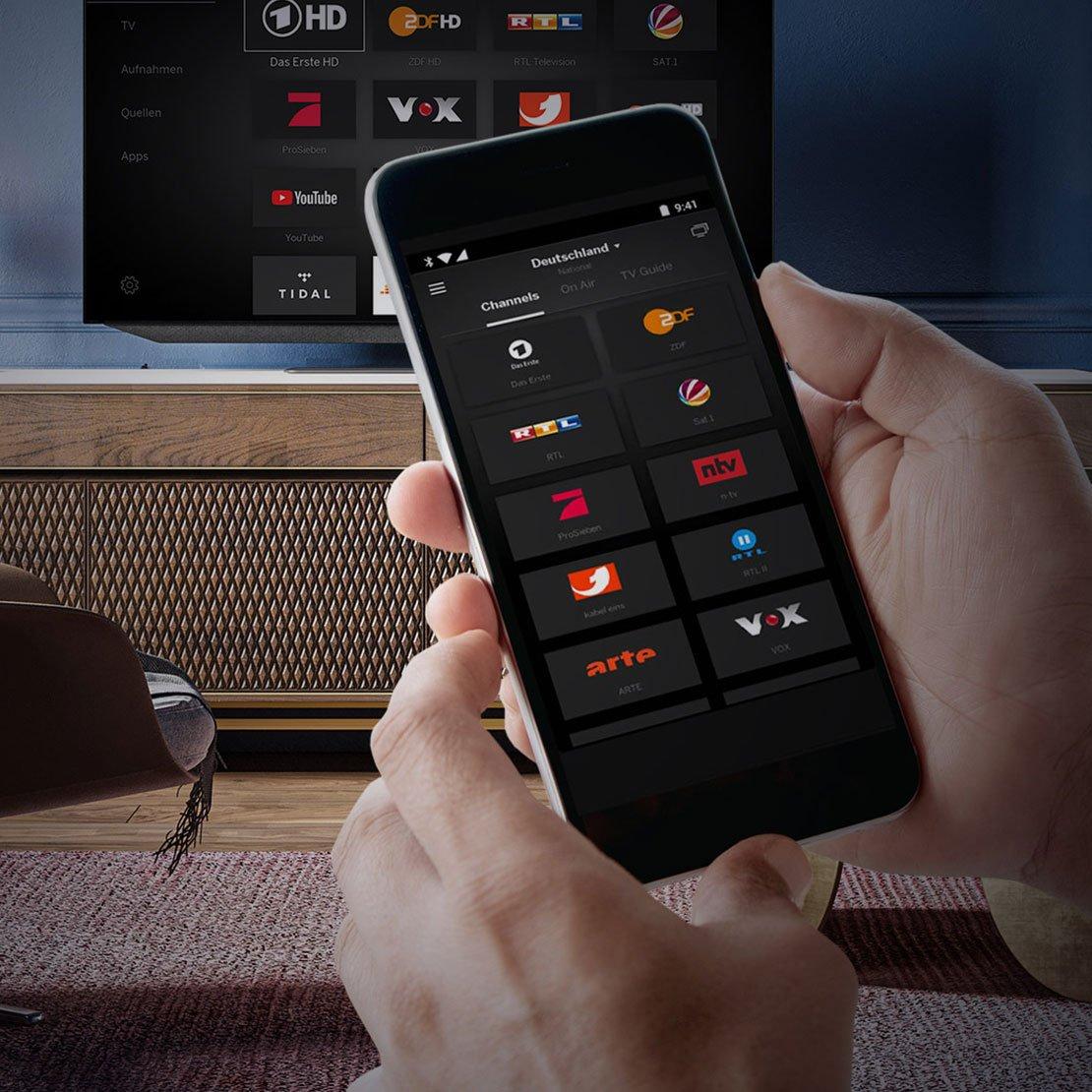 Loewe - natychmiastowy dostęp do kanałów TV