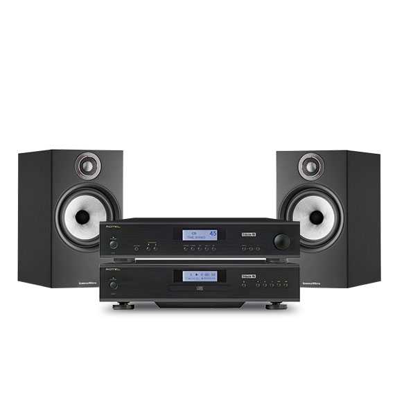 Rotel A11 Tribute + CD 11 Tribute + Bowers & Wilkins 606 S2 Anniversary Edition