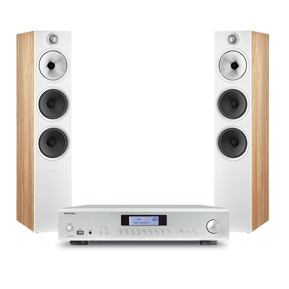Rotel A14 MKII + Bowers & Wilkins 603 S2 Anniversary Edition