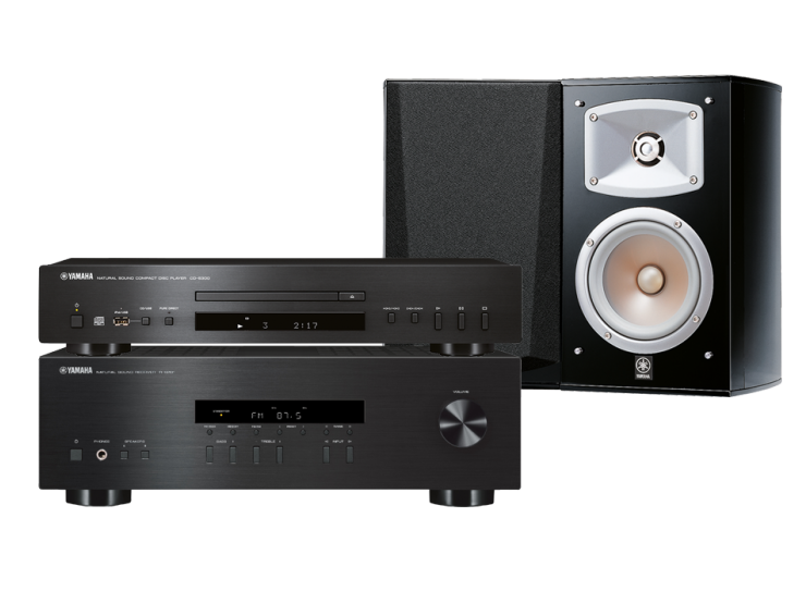 Yamaha A-S201 + CD-S300 + NS-333