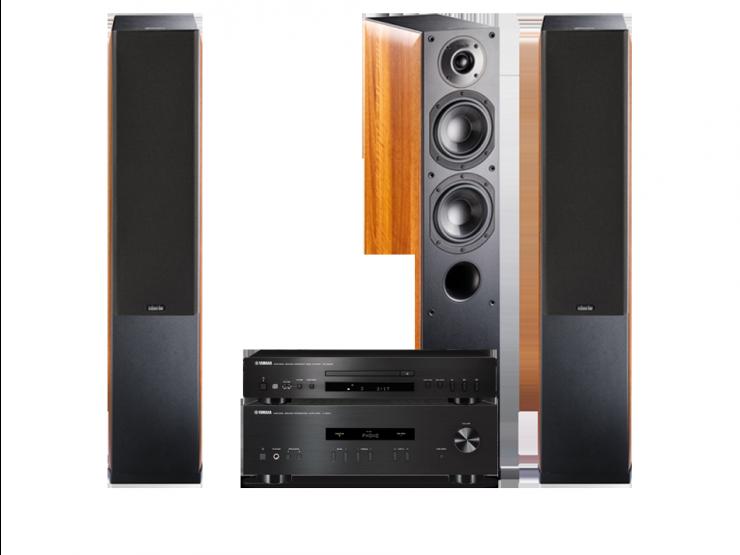 Yamaha A-S201 + CD-S300 + NOTA 550