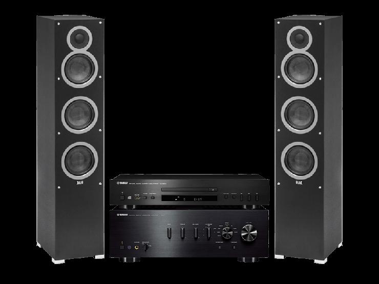 Yamaha A-S701 + CD-S300 + DEBUT F5
