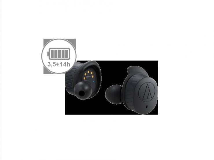 Słuchawki Audio-Technica ATH-SPORT7TW czarne