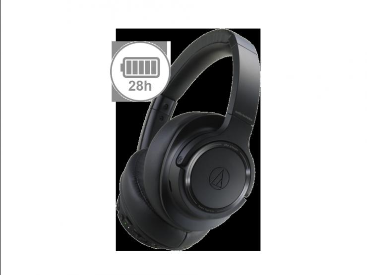 Słuchawki Audio-Technica ATH-SR50BT czarne
