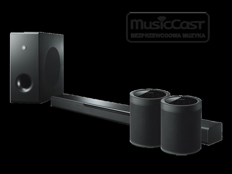 BAR 400 + 2x MusicCast 20