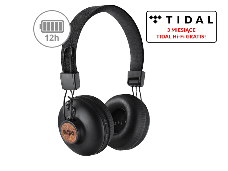 House of Marley Positive Vibration 2 Wireless black (EM-JH133-SB)