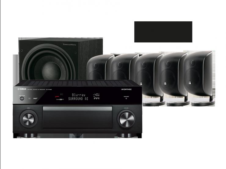 MusicCast RX-A1080 + 5 x M-1 + ASW 610