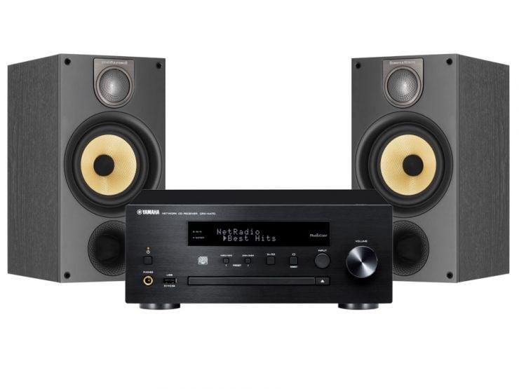 Yamaha MusicCast PianoCraft MCR-N470D + B&W 686 S2
