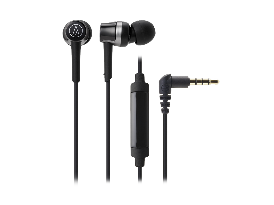 Nowoczesne, douszne słuchawki Audio-Technica ATH-CKR30iS