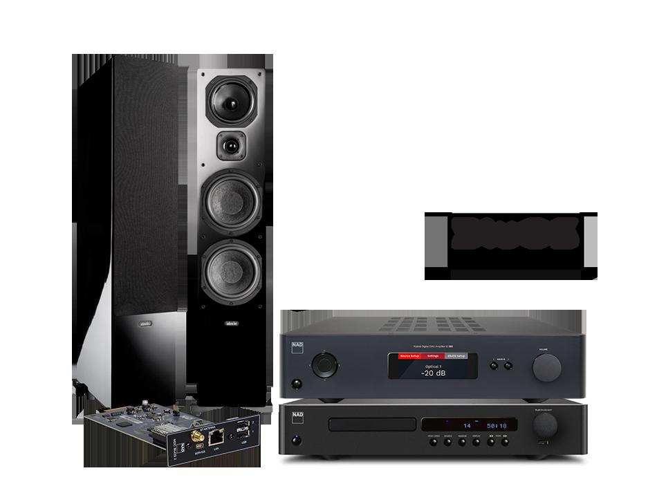 Nad c368 mdc bluos 2 c568 diva 660 top hi fi video design - Indiana line diva 660 ...