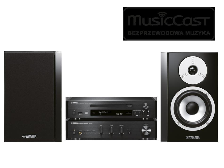Yamaha Grand PianoCraft MusicCast MCR-N870