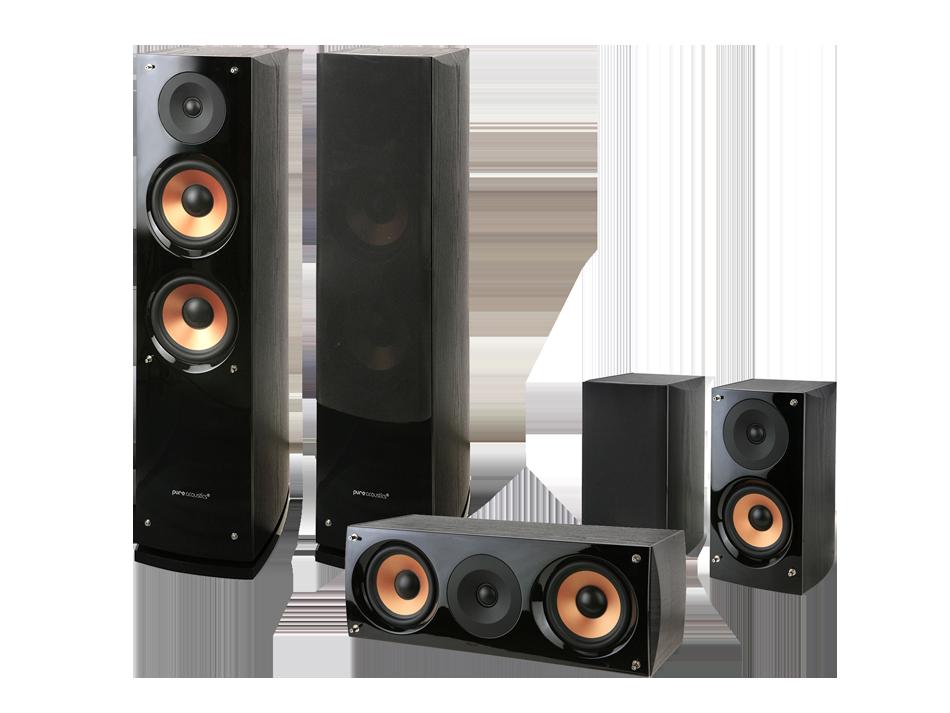 Zestaw głośników Pure Acoustics Nova 6