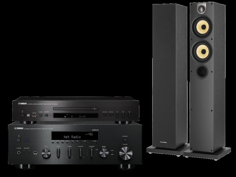 Yamaha R-N602 + CD-S300 + 684S2