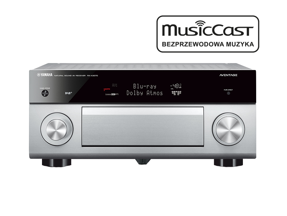 Amplituner yamaha rx a3070 musiccast wifi nowo for Yamaha musiccast spotify