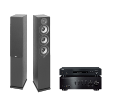 A-S701 + NP-S303 + ELAC DEBUT F5