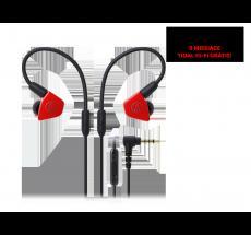 Słuchawki douszne Audio-Technica ATH-LS50iS czerwone