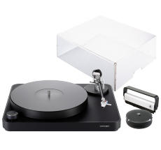 Concept (bl/bl) + pokrywa + Concept Record Clamp + Record Cleaning Brush