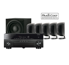 MusicCast RX-A880 + 5 x M-1 + ASW 610
