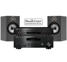 R-N602 + CD-S300 + B&W 606