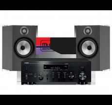 R-N803D + B&W 606