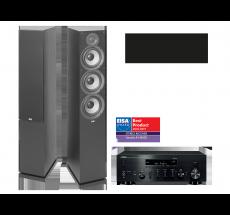 R-N803D + ELAC Debut 2.0 F6.2