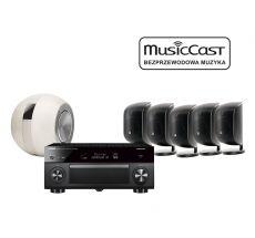 MusicCast RX-A2080 + 5 x M-1 + PV1D