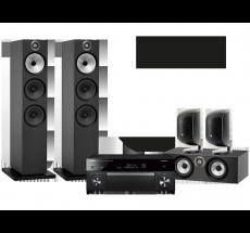RX-A1080 + B&W 603 + HTM6 + 2x M-1