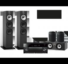 RX-A1080 + B&W 603 + HTM6 + 2x MusicCast 20