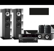 RX-A2080 + B&W 603 + HTM6 + 2x MusicCast 20