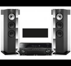 RX-A880 + B&W 603