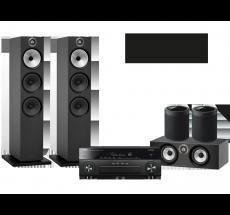 RX-A880 + B&W 603 + HTM6 + 2x MusicCast 20