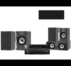 RX-A880 + B&W 606 + 607 + HTM6