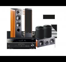 RX-V485 + NOTA 550 X + NOTA 740 X + 2 x MusicCast 20