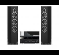 RX-V585 + ELAC Debut F6