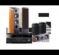 RX-V585 + NOTA 550 X + NOTA 740 X + 2 x MusicCast 20