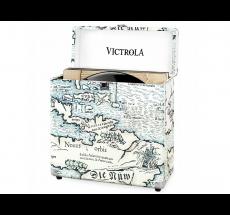 Victrola Vinyl Record Case Map