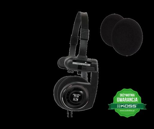 Porta Pro BLK + Gąbki do słuchawek