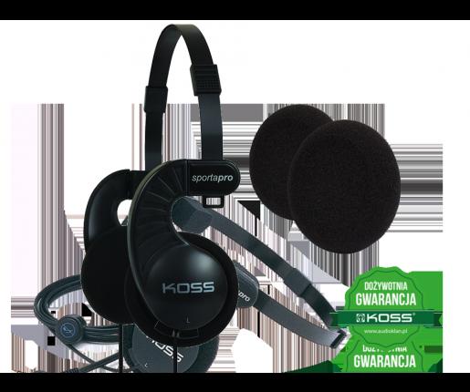 Koss Sporta Pro + Gąbki do słuchawek