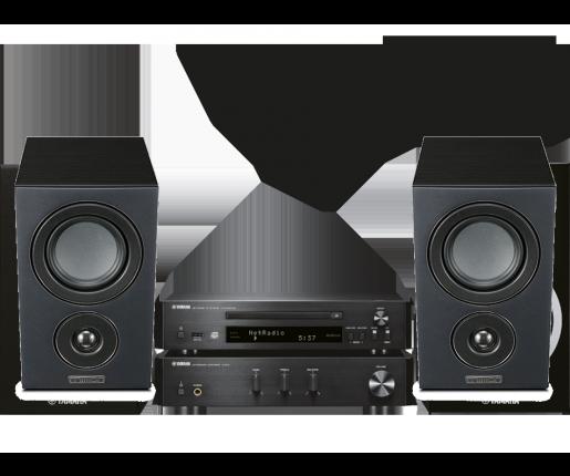 PianoCraft MCR-N670D + Mission LX-1