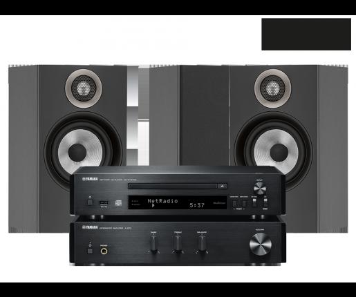 MusicCast PianoCraft MCR-N670D + B&W 607