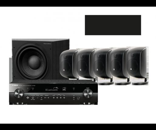 MusicCast RX-S602 + 5 x M-1 + ASW 608