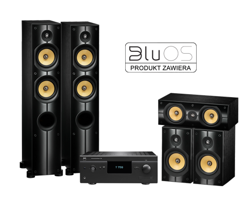 T758 V3 + PSB Speakers Imagine X1T + XC + XB