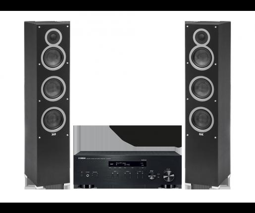 R-N303D + ELAC Debut F5