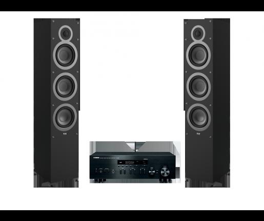 R-N402D + ELAC Debut F6