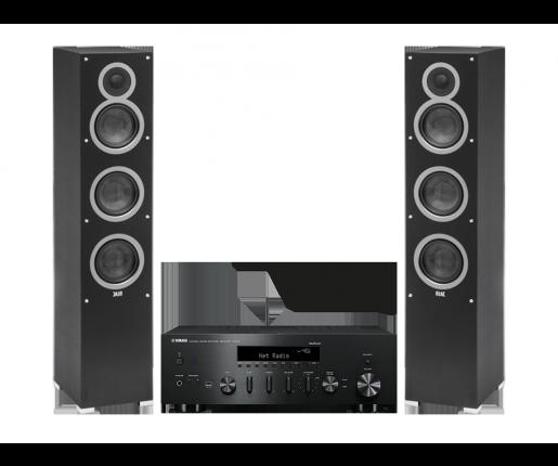 R-N602 + ELAC Debut F5