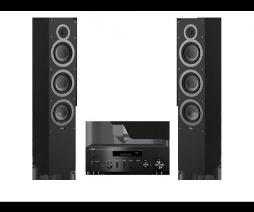 R-N602 + ELAC Debut F6