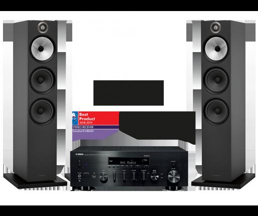 R-N803D + B&W 603
