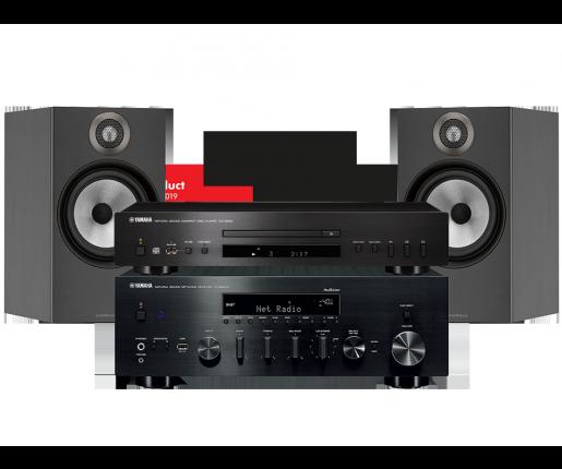 R-N803D + CD-S300 + B&W 606