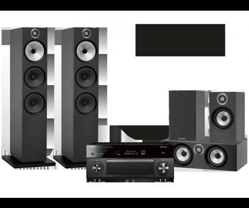 RX-A2080 + B&W 603 + 607 + HTM6