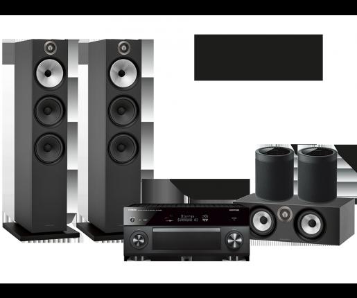 RX-A3080 + B&W 603 + HTM6 + 2x MusicCast 20
